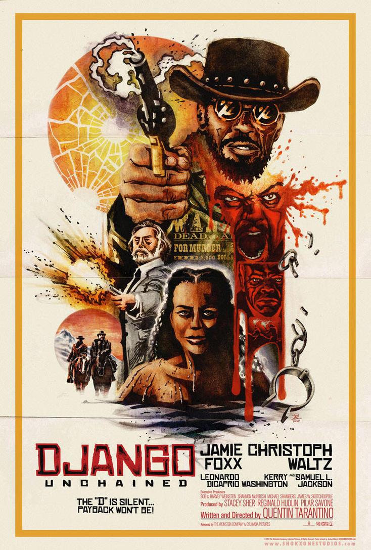 Django Unchained by shokxone-studios