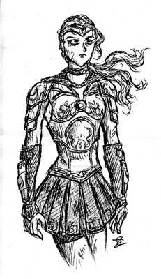 Random Sketch: Sailor Moon Re-design