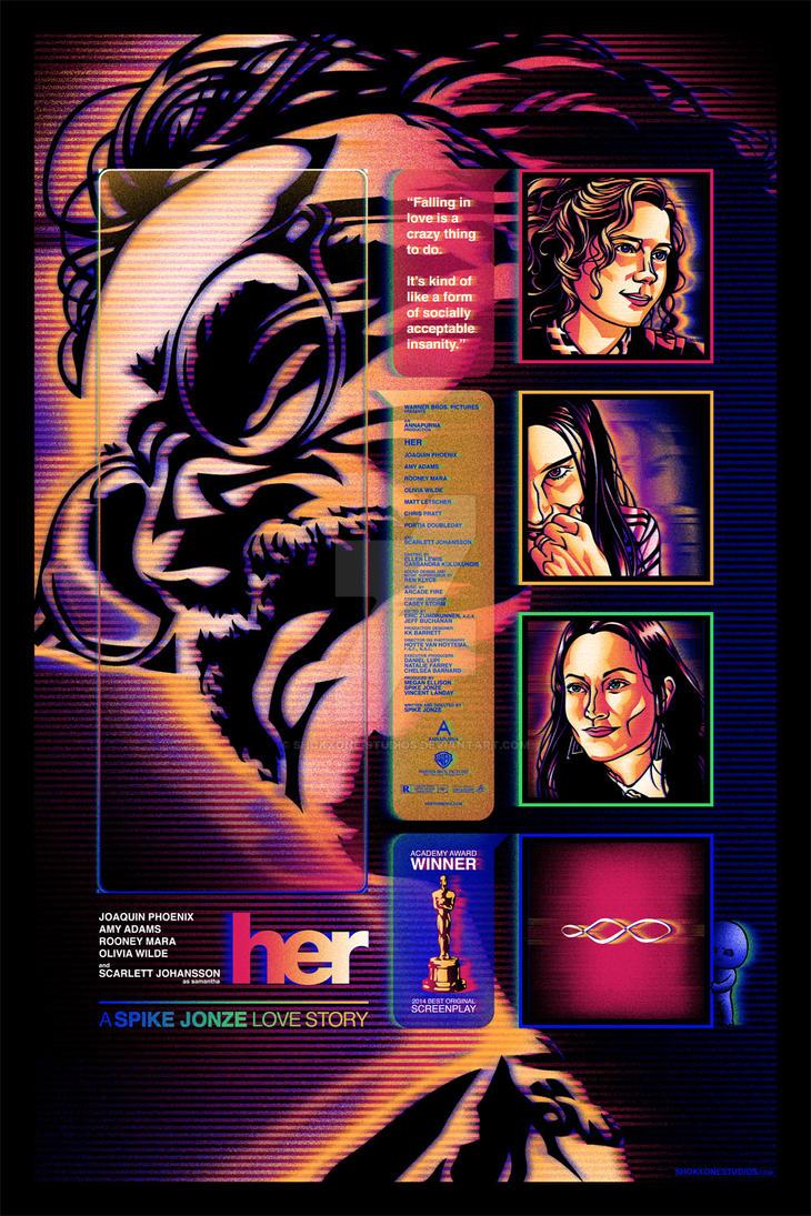 Spike Jonze's HER by shokxone-studios