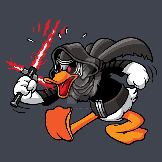 Duck Side of the Force by shokxone-studios
