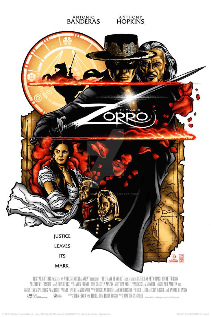 The Mask of Zorro by shokxone-studios