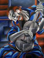 Gray Guitar by shokxone-studios