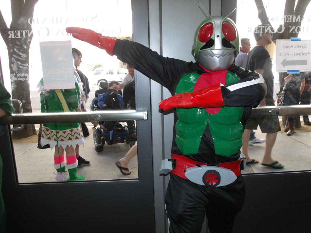 Kamen Rider Nigou by Moogleborg