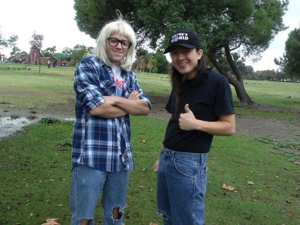 Wayne and Garth by Moogleborg