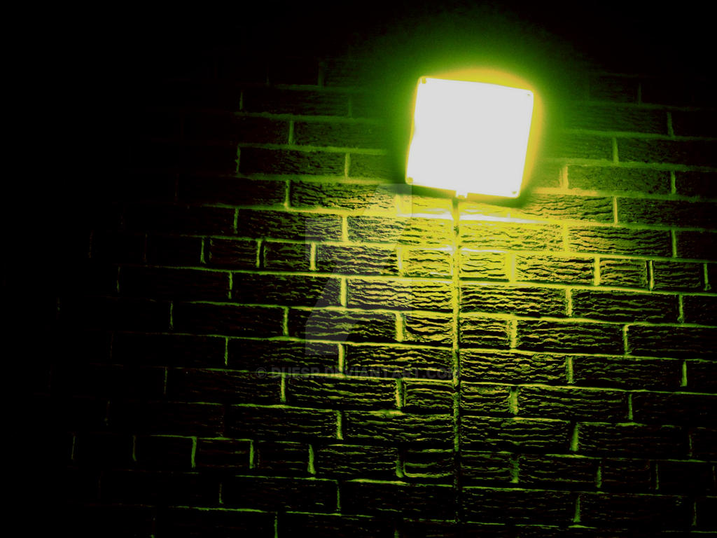 Wall Lights On Brick : Green-Brick-Wall-Light* by DUESr on DeviantArt