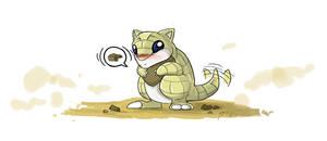 Pokemon: 11 Sandshrew by XxFallenYoshixX