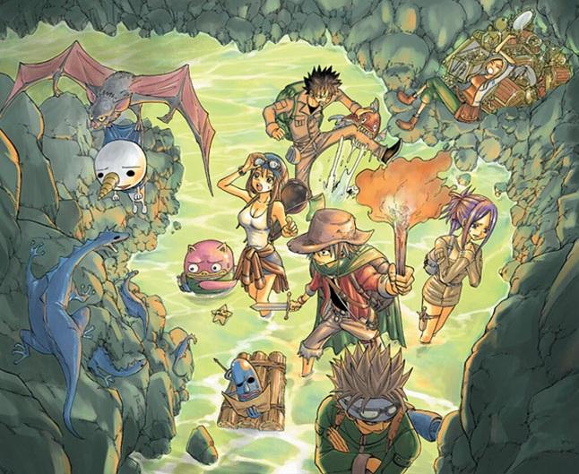 Hit or Miss? Version manga - animé - Page 5 Rave_master___adventure_by_piratenking-d4npabz