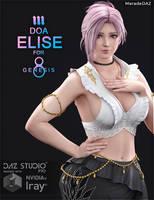 [FREEBIE] DOA Elise for Genesis 8 and 8.1 Female