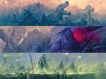 MBX Vol 01 21 Battle Inhumans sketch by Nisachar
