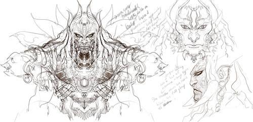 Ghatotkach Sketch 01