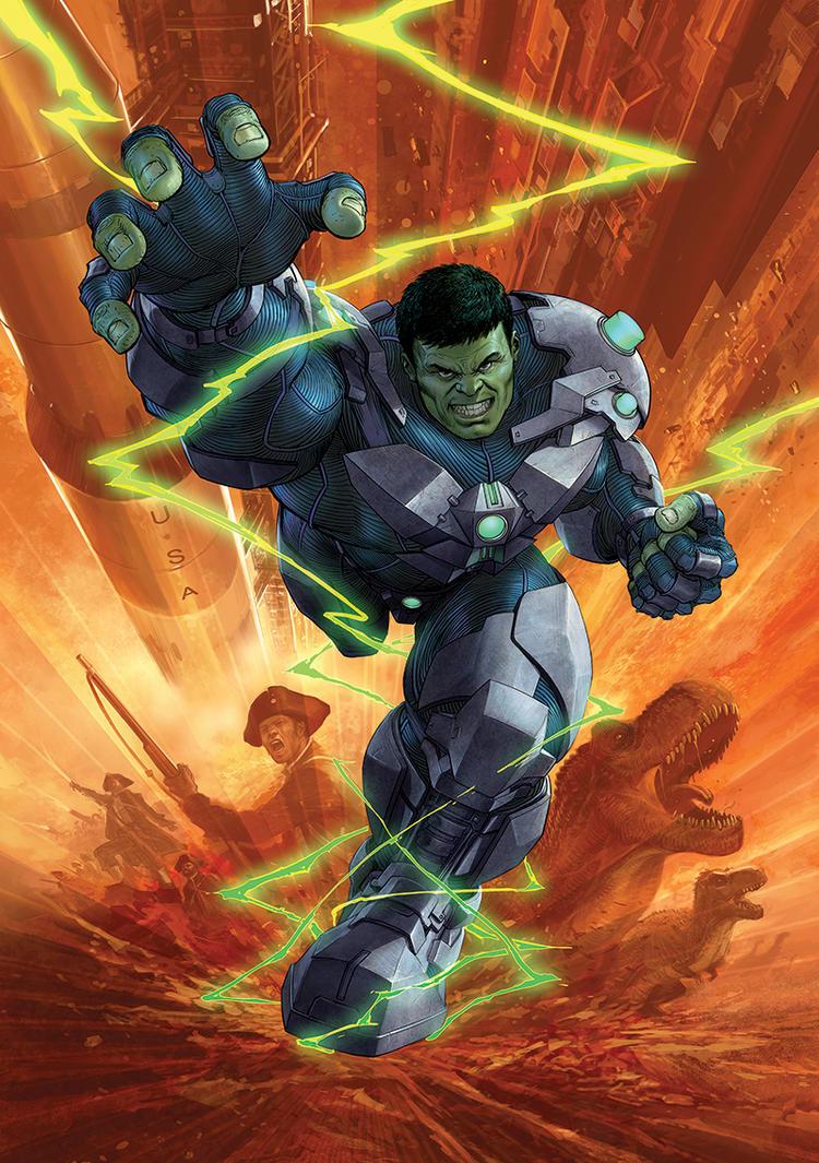 Indestructible-Hulk 11 by Nisachar