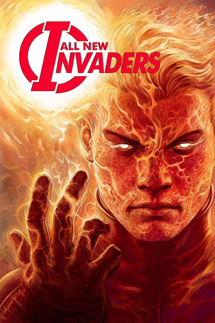 All New Invaders #4 Cover by Nisachar