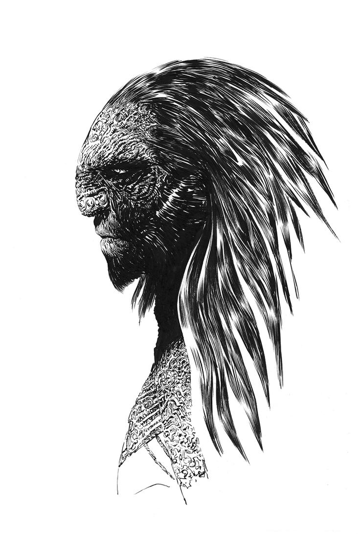 INK Sketch 01 by Nisachar