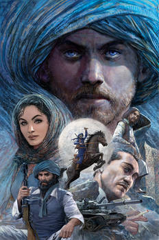Khyber Knights Graphic Novel 01 Cover