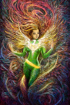 Phoenix Resurrection Variant Cover