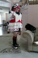 Cosplaying as Maki Nishikino