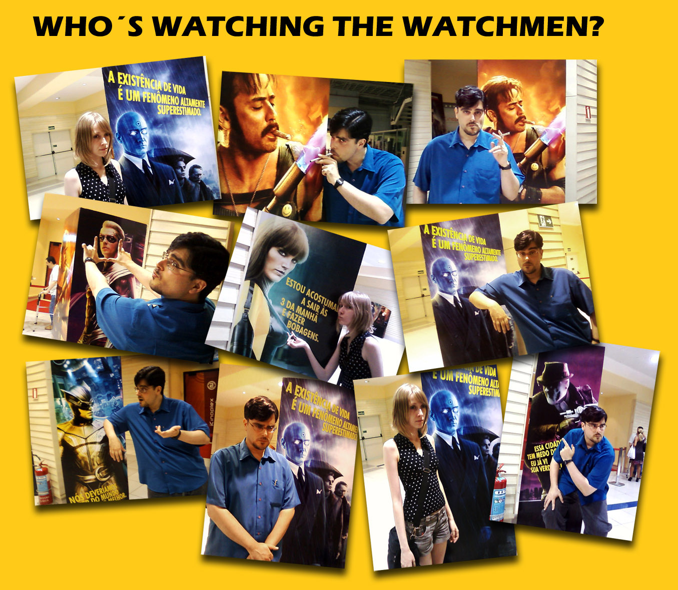 watching the watchmen Jeremy kay: this week it's all about watchmen, and a box-office performance even  us box office: will everyone be watching the watchmen.
