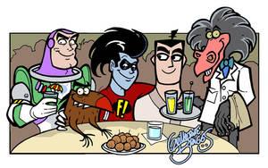 Meus personagens de dublagem by GuilhermeBriggs