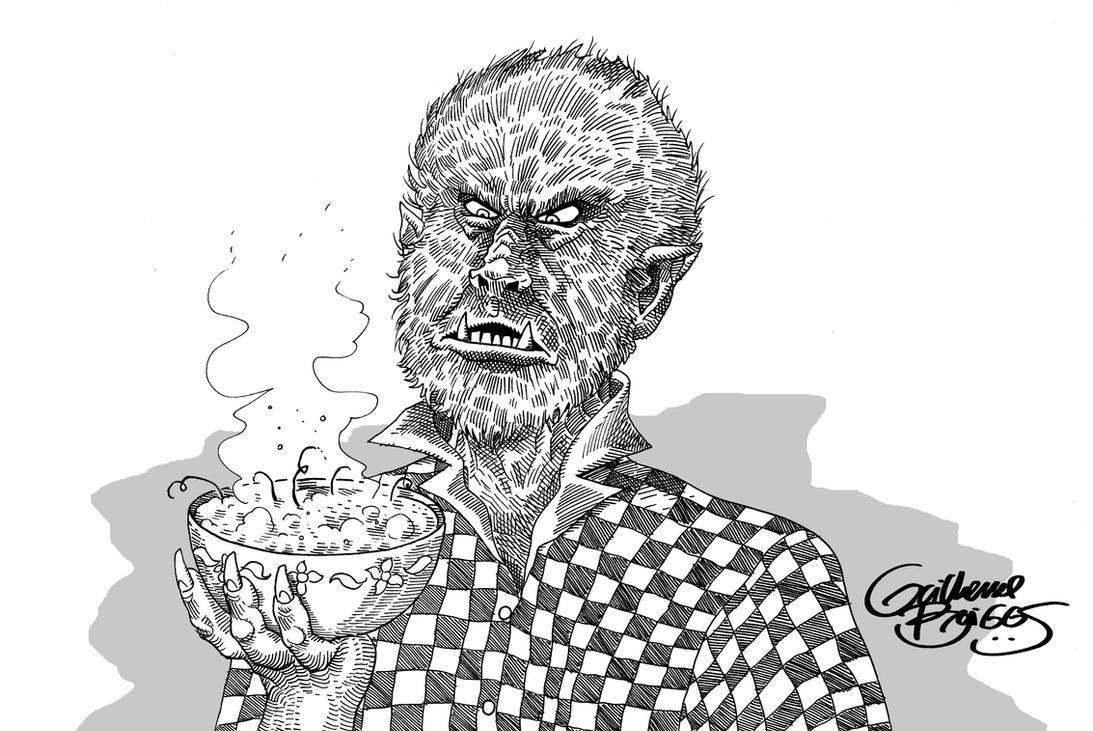 O Lobisomen e a sopa by GuilhermeBriggs