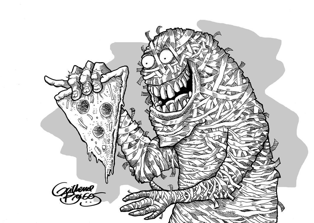 A Mumia e a Pizza by GuilhermeBriggs
