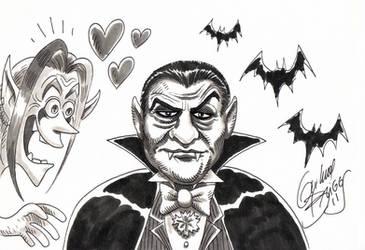 Dracula e Domi (Mercenarios) by GuilhermeBriggs