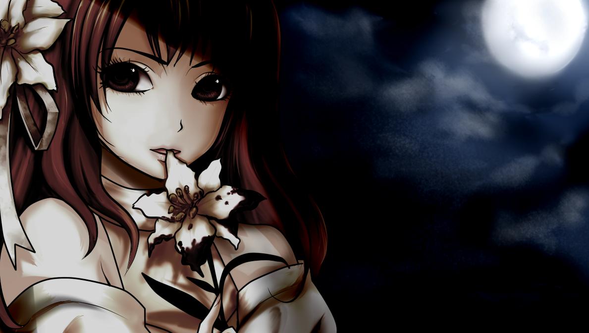 Chloe dark moon by OrikaNekoi