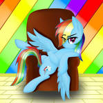Chilled Rainbow Dash