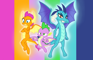 Dragon Trio by Metal-Jacket444