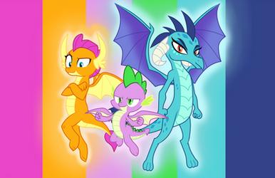 Dragon Trio by Metal-Jacket444