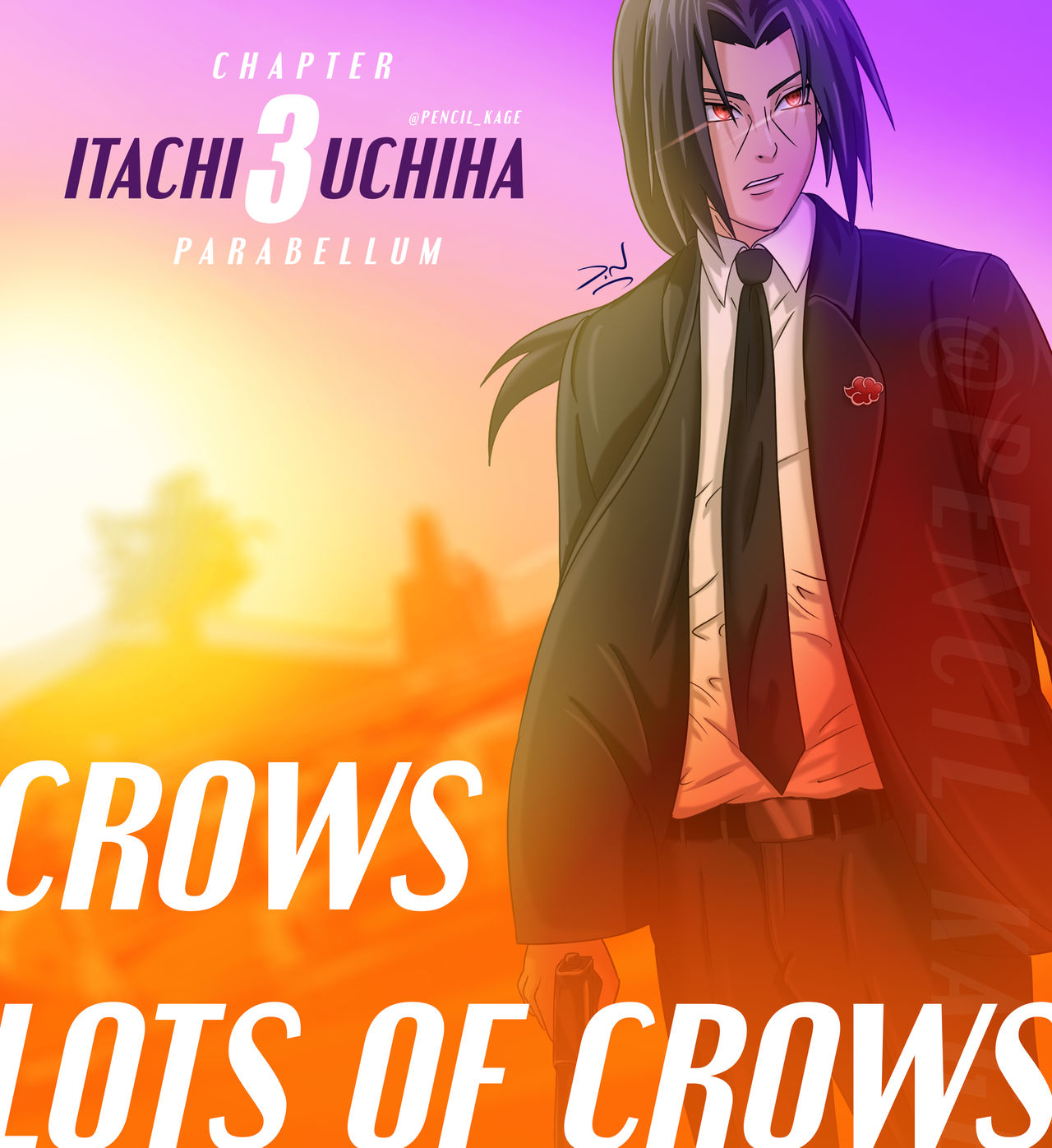Crows Lots Of Crows Itachi John Wick By Pencilkage On Deviantart