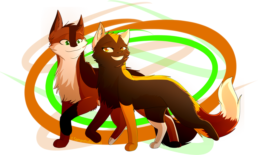 [Gift] Old, But New Friends! by SamanthaBabinski