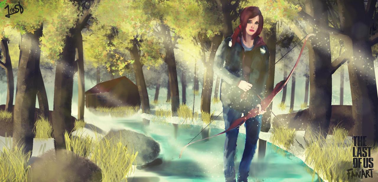 The Last Of Us Ellie by Dream-Bunker