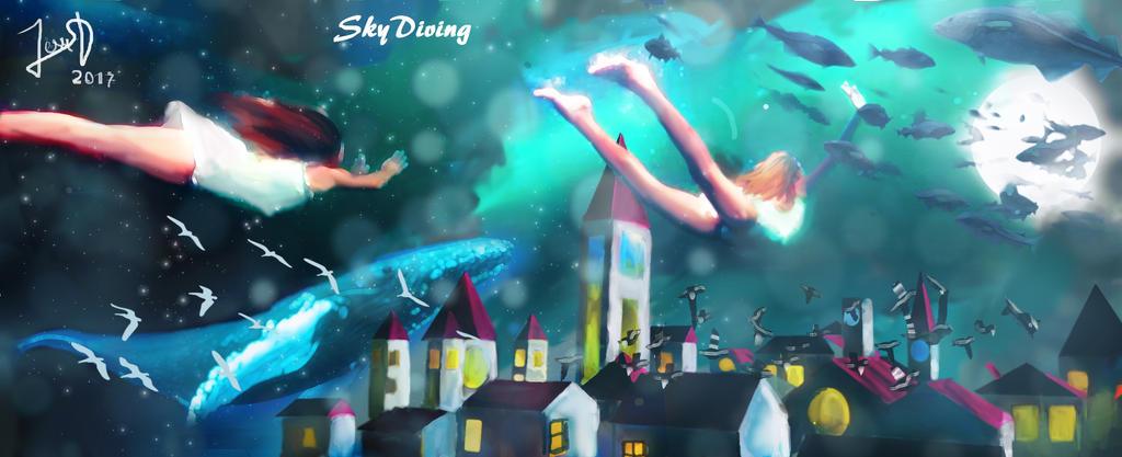 SkyDiving by Dream-Bunker