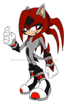 Thunder The Hedgehog by it-s-no-use