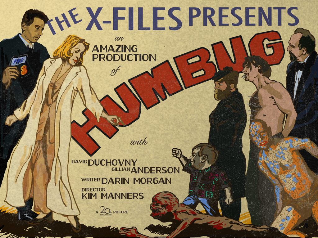 The X-Files - Humbug by jjlendl