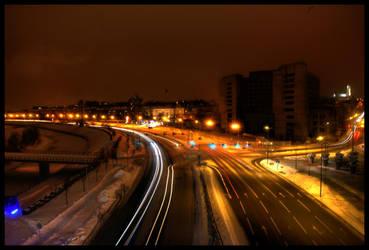 Kaunas at night. by Dunk3R