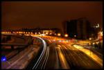 Kaunas at night.
