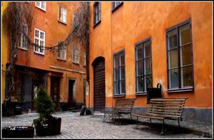 Orange alley by Dunk3R