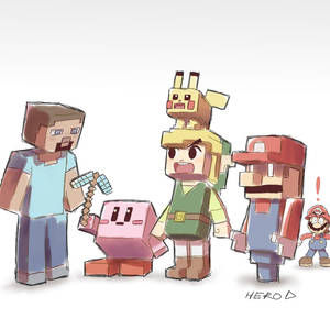Smash Bros. is Cubism