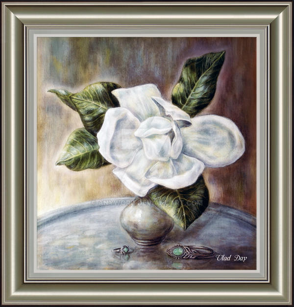 Magnolia_2 framed by anyword