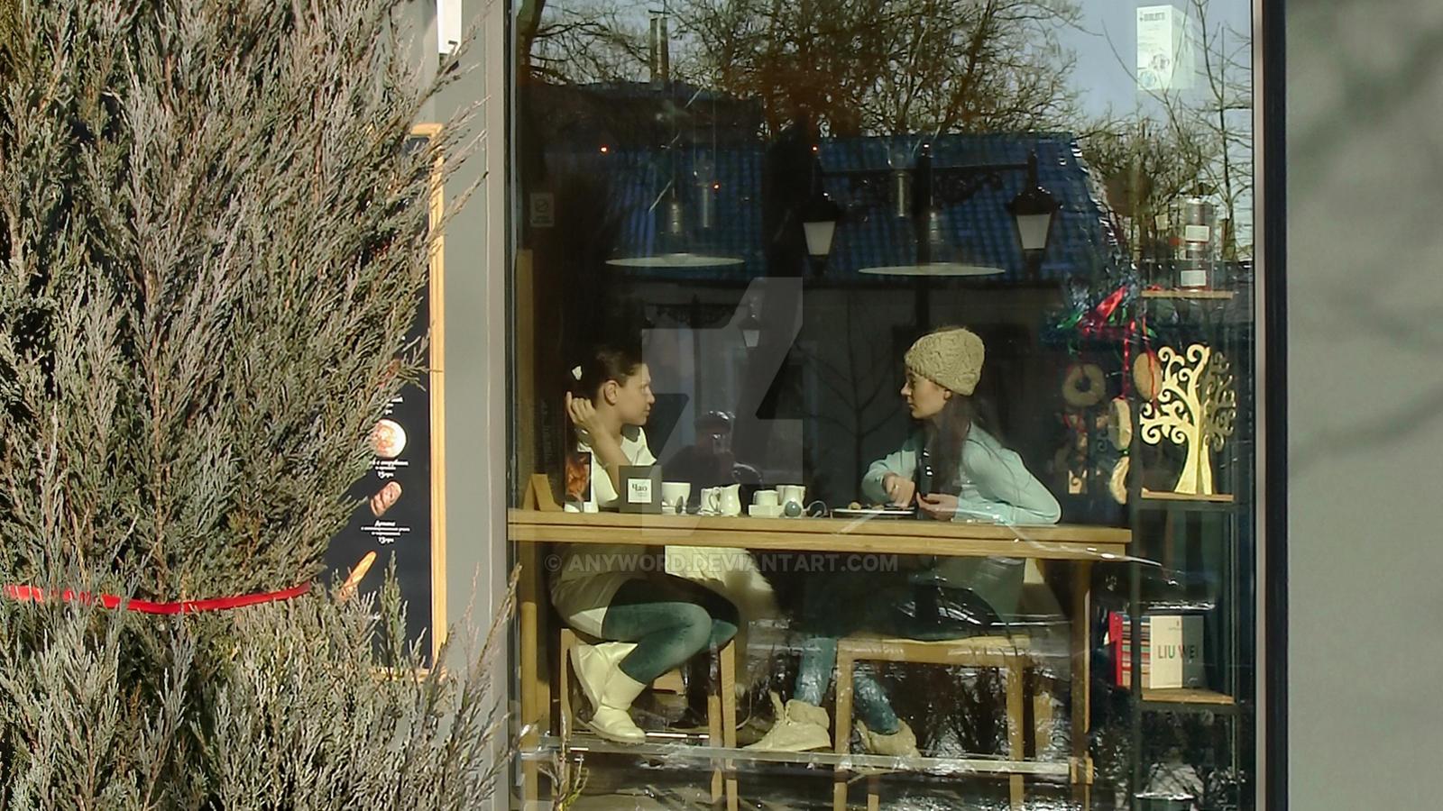 Gorky St. in Simferopol, 17.01. 2014. Detail 2 by anyword