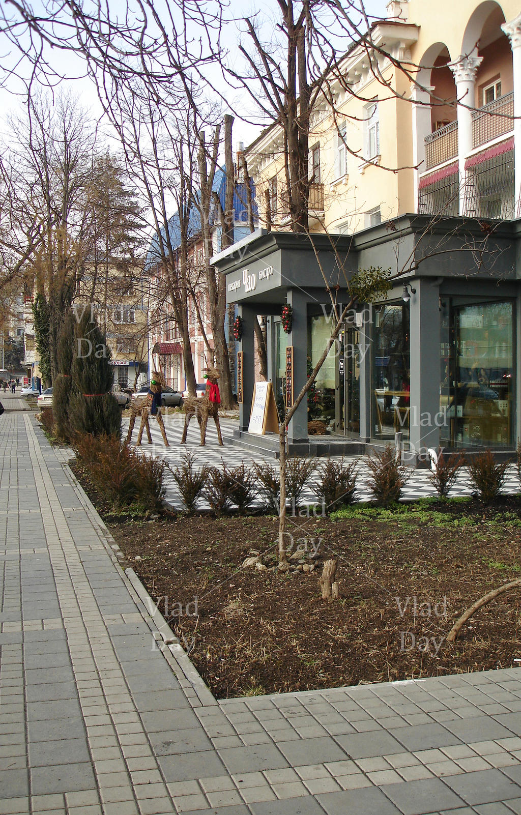 Gorky St. in Simferopol, 17.01. 2014, one shot by anyword