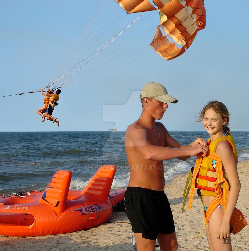 The Azov sea beach, August 17, 2007. A detail. by anyword
