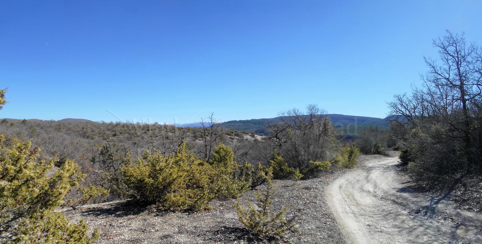 Mount Tepe Kermen area, Crimea, March 5 2017 by anyword