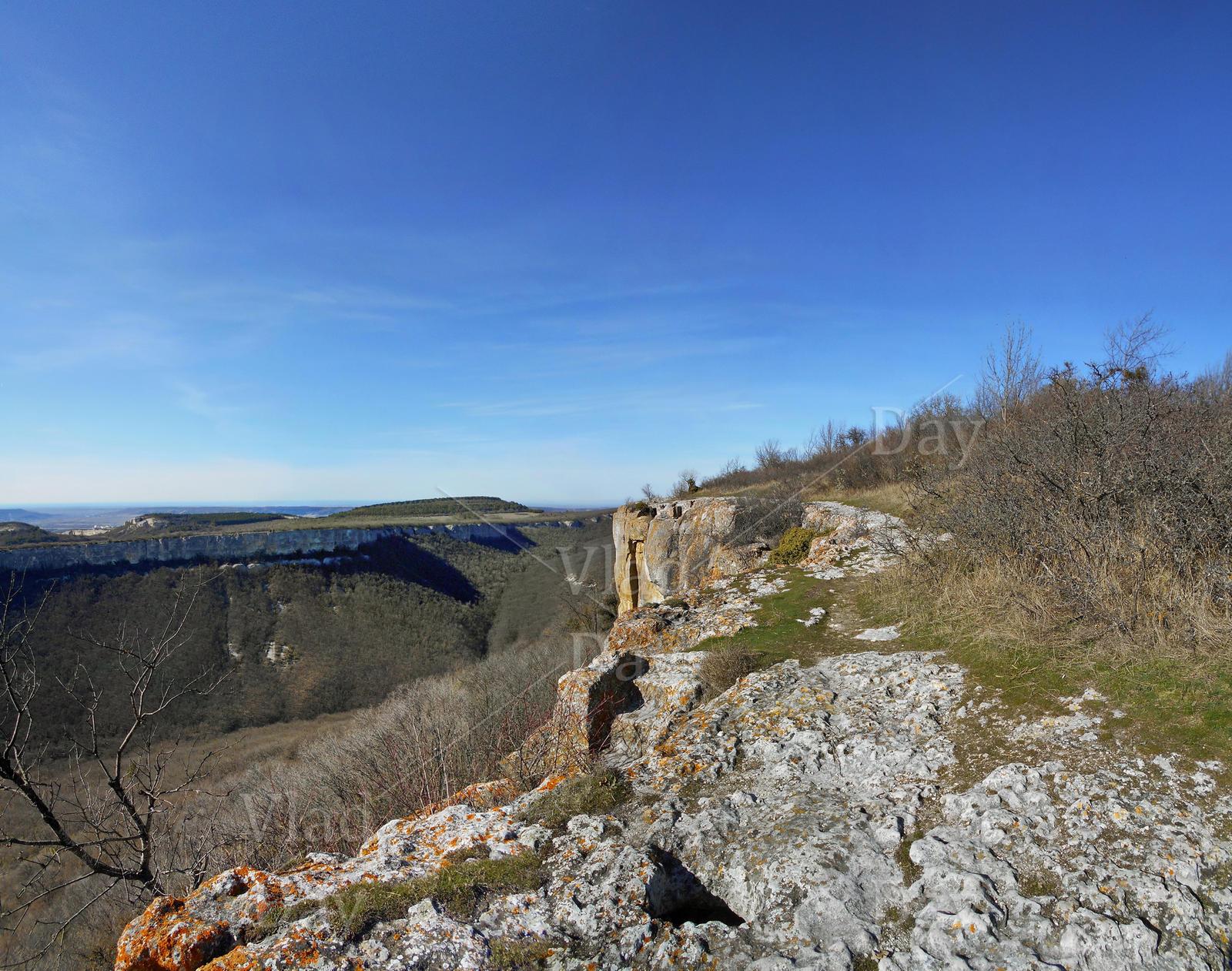 Mount Tepe Kermen, Crimea, March 5 2017 by anyword