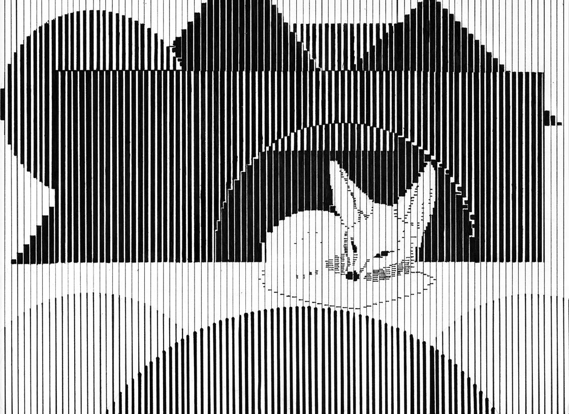 Artwork Using Lines : Vertical line project by sundown on deviantart