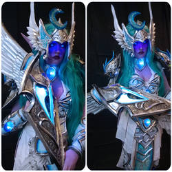 Tyrande Whisperwind Heroes Of The Storm + Warcraft by charmlesschar
