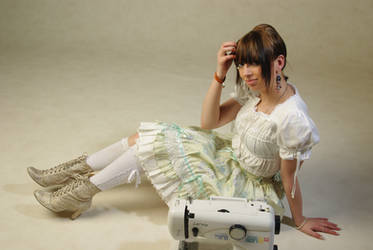 Lolita and Sewing 5