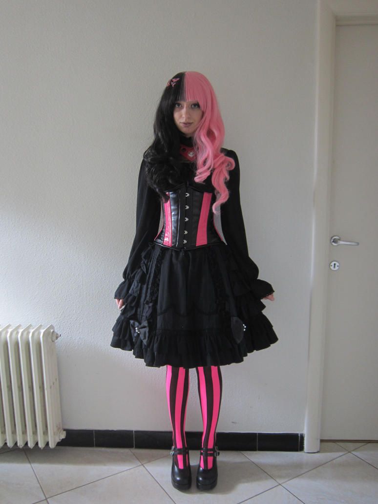 Cyber Lolita by Kawaii-x-Stock