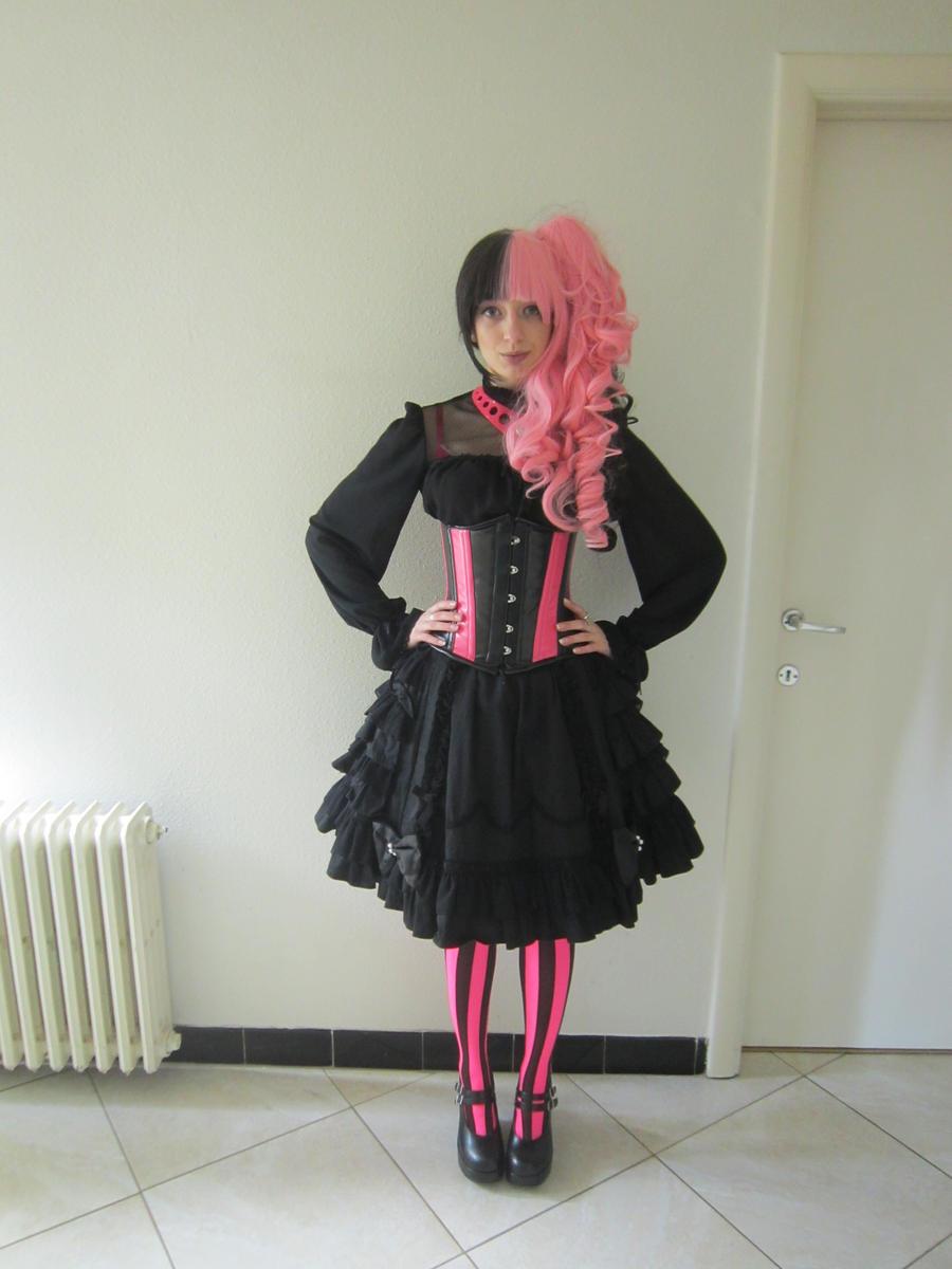 Cyber Lolita by Kawaii-x-Stock